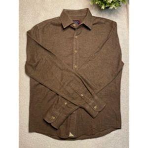 UNTUCKit Long Sleeve Flannel Button Down Shirt